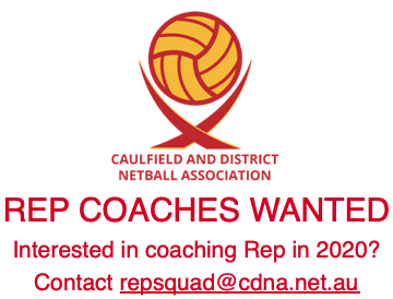 2020 Rep Coaches Wanted